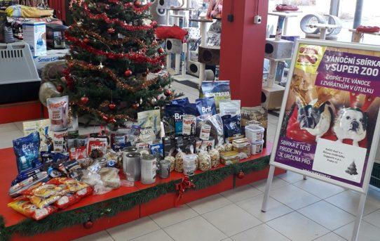 Vánoční sbírka na prodejnách SUPER ZOO